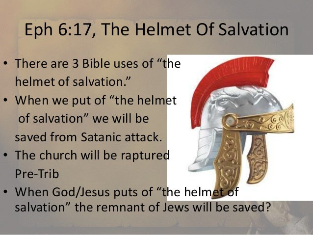 how to draw a helmet of salvation