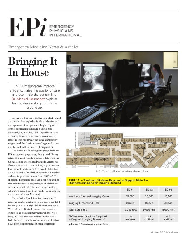 Emergency Medicine News & Articles  Bringing It In House In-ED imaging can improve efficiency, raise the quality of care a...