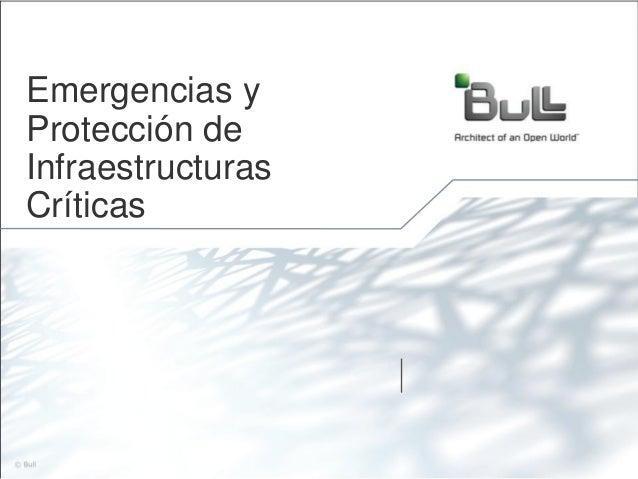Emergencias yProtección deInfraestructurasCríticas                   1