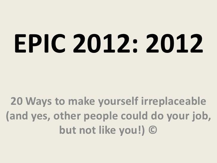 Epic 2012 tri state