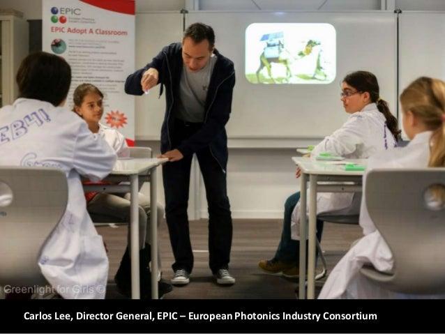 Carlos Lee, Director General, EPIC – European Photonics Industry Consortium