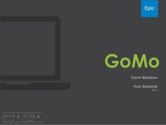 Epic's GoMo authoring tool