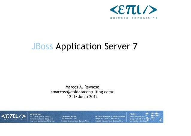 Epicharla JBoss AS 7