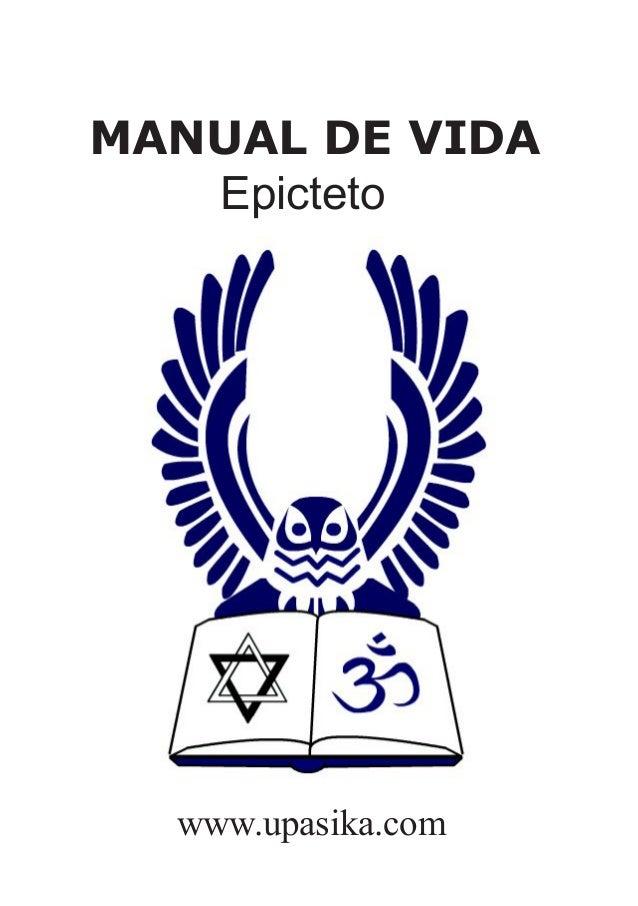 MANUAL DE VIDA   Epicteto  www.upasika.com
