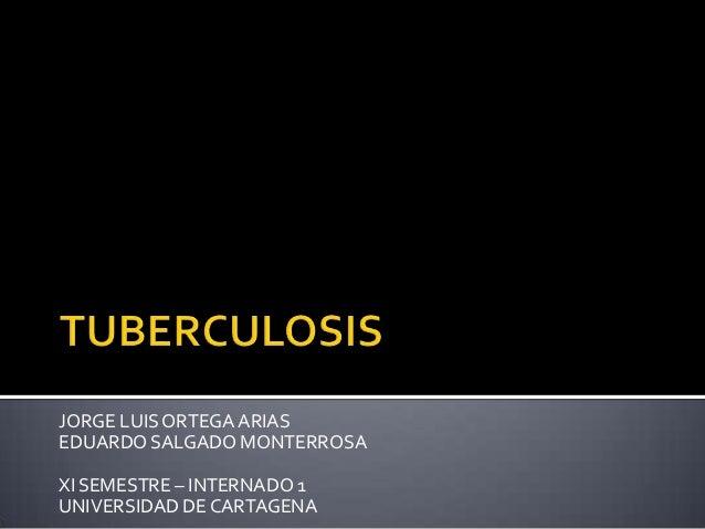 Epidemiologia de la tuberculosis