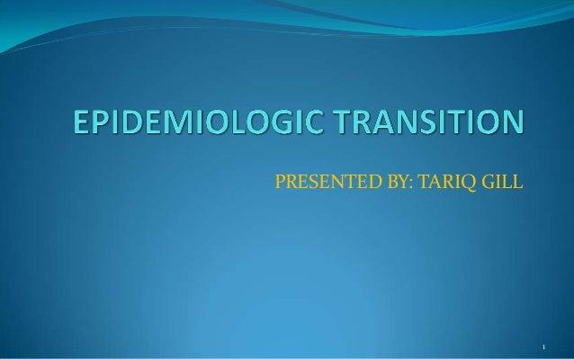 Epidemiologic Transition