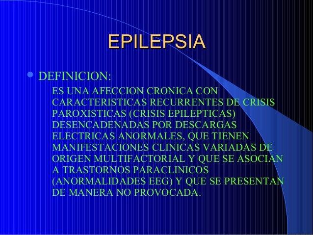 Epilepsia clase