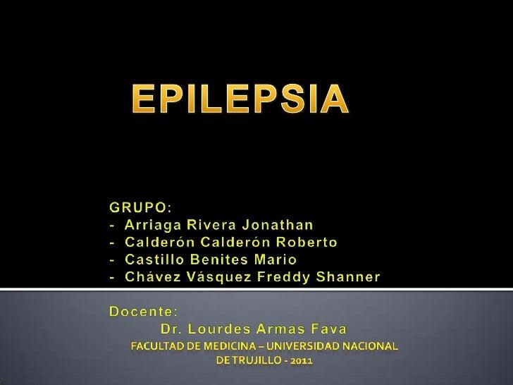 Epilepsia farmacologia