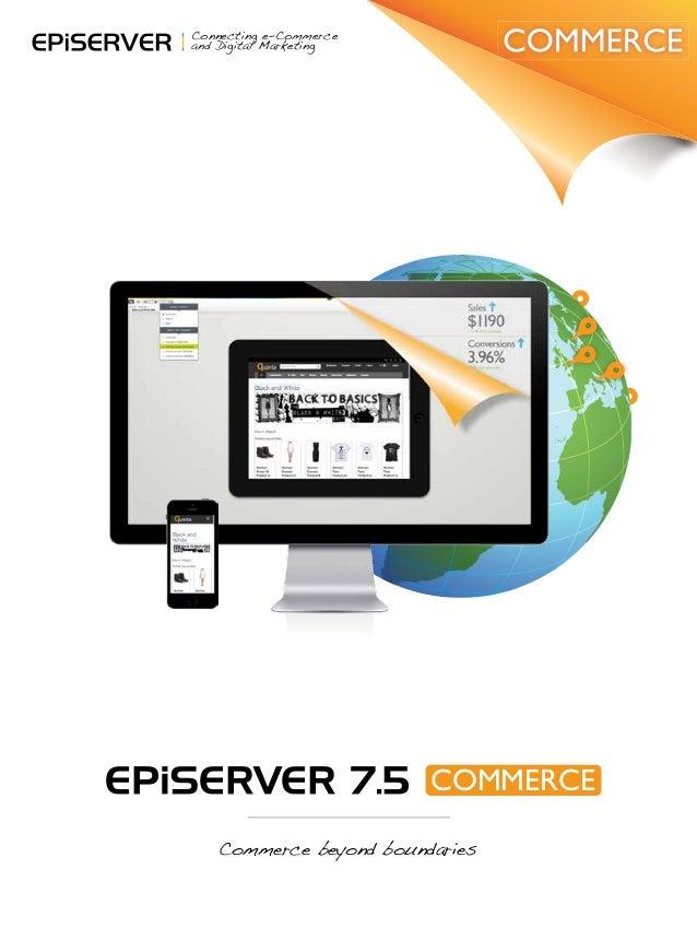 EPiServer 7.5 Commerce