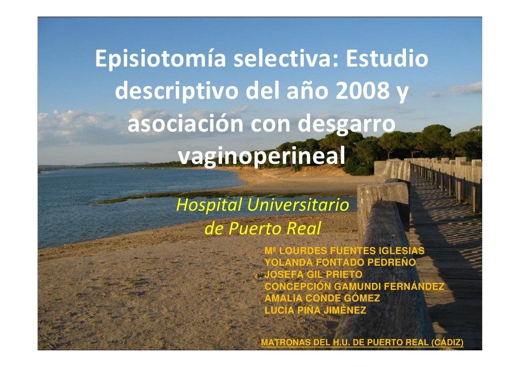 Episiotomia select