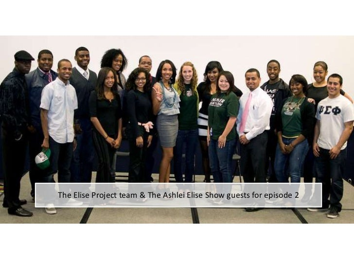 The Elise Project team & The Ashlei Elise Show guests for episode 2<br />