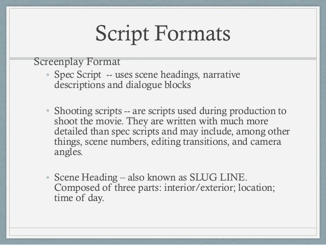 Episode 6 write it on paper pdf for Camera script template