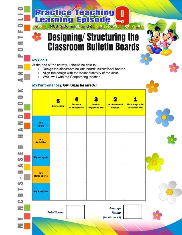 Fs 7 Episode 9 Designing Structuring Classroom Bulletin