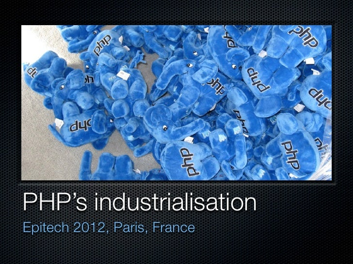 Epitech industrialisation 2012.key