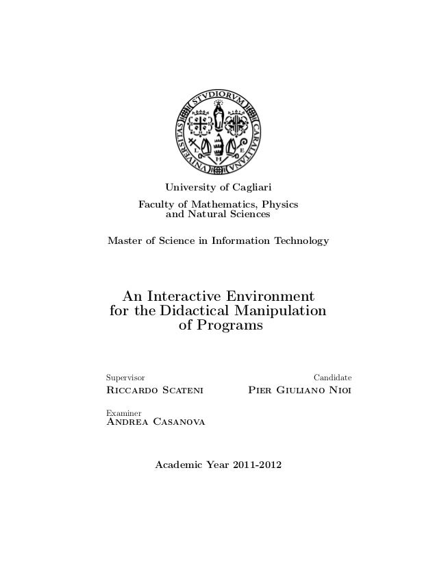 Eple thesis