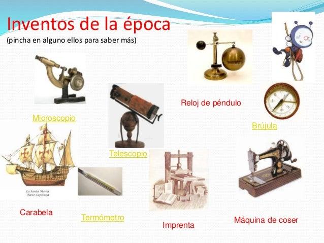 inventos tecnologicos en la edad moderna