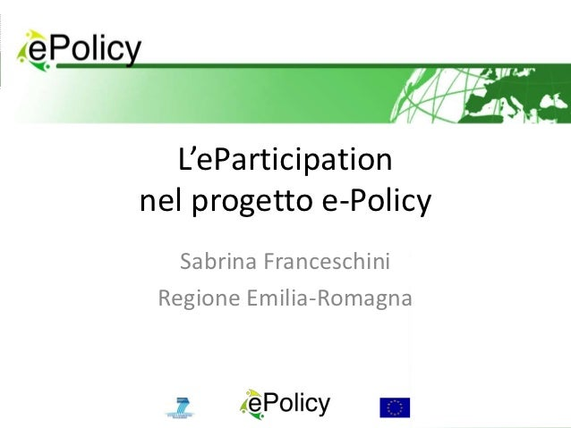 Epolicy slides smartcity