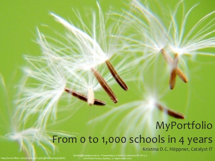 MyPortfolio: From 0 to 1,000 schools in 4 years