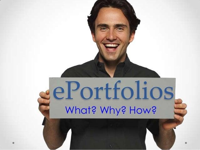 ePortfolios (revised)