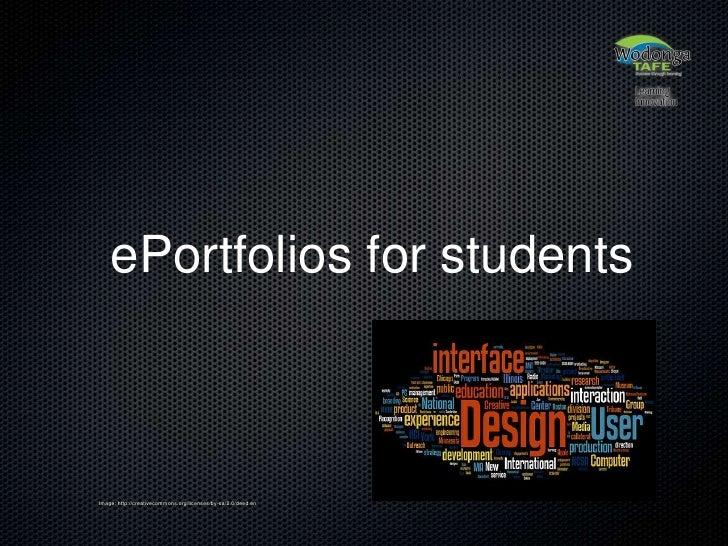 Eportfolios in Education