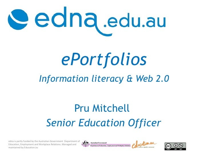 ePortfolios and information literacy