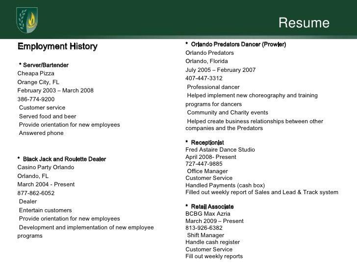 Internal Resume Format Resume IdeasTammy Resume 2Excellent