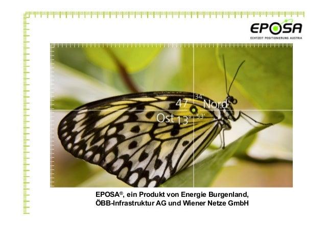 EPOSA®, ein Produkt von Energie Burgenland, ÖBB-Infrastruktur AG und Wiener Netze GmbH