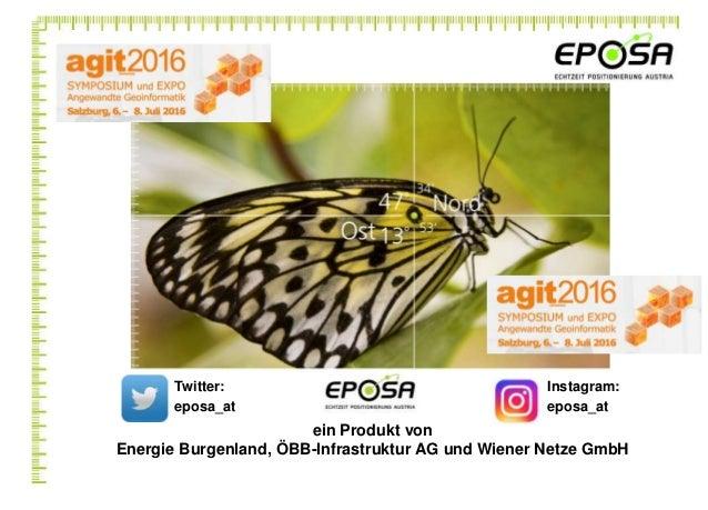 ein Produkt von Energie Burgenland, ÖBB-Infrastruktur AG und Wiener Netze GmbH Twitter: eposa_at Instagram: eposa_at
