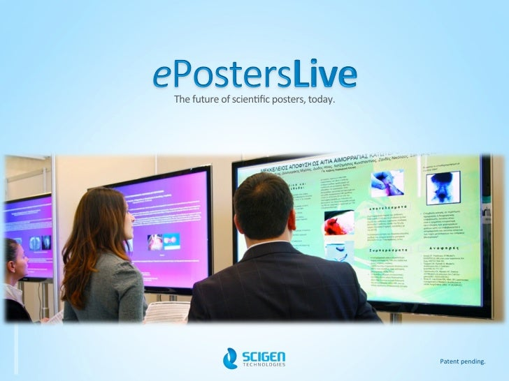 ePostersLive - Overview