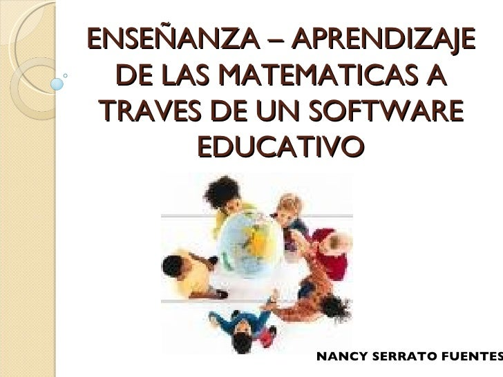 ensenanza y aprendizaje de la matematicas: