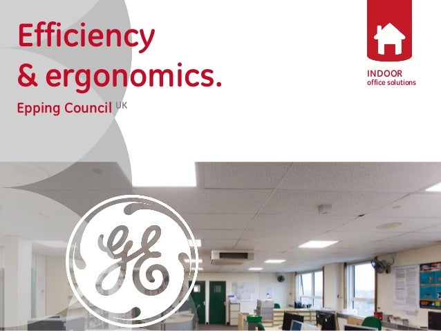 Epping Council Office Lighting Project with GE