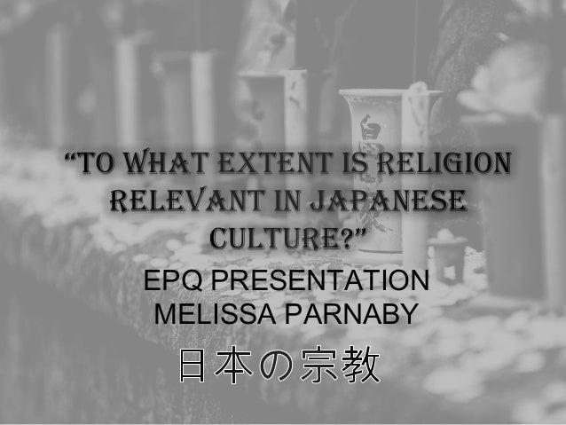 EPQ PRESENTATION MELISSA PARNABY