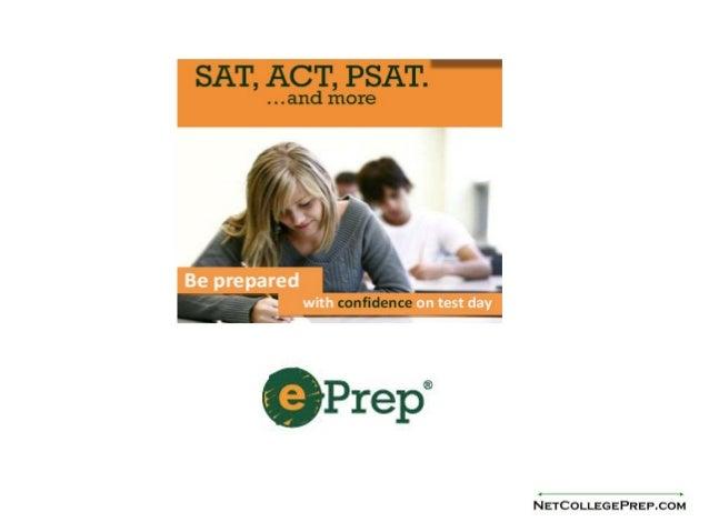 ePrep SAT/ACT Online Test Prep