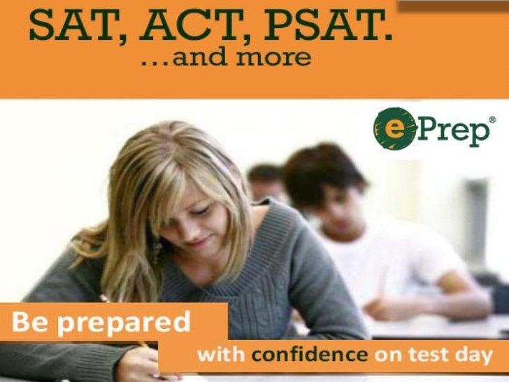 ePrep ACT/SAT Online Test Prep