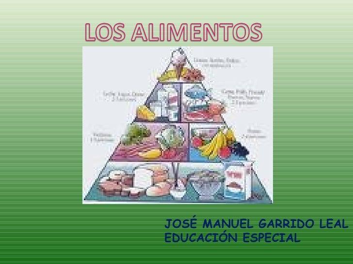 JOSÉ MANUEL GARRIDO LEAL EDUCACIÓN ESPECIAL