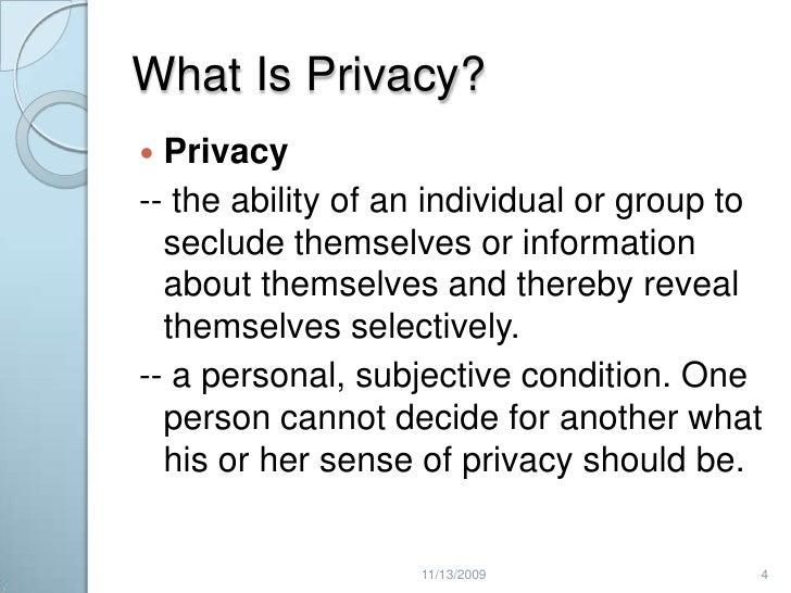 internet privacy security essay Technological progress has made such surveillance and control methods possible that would appear as science-fiction a couple decades ago: satellites, electronic chips, internet databases, and so on however, the progress goes faster than consumers and government agencies are able to adopt and accept novelties, and thus conflicts regarding privacy and the appropriateness of control methods can arise.