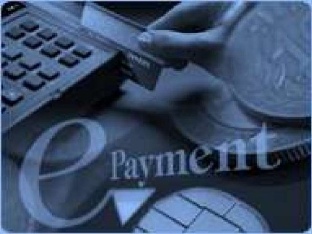 Electronic Payment System Electronic payment system is a system which helps the customer or user to make online payment fo...