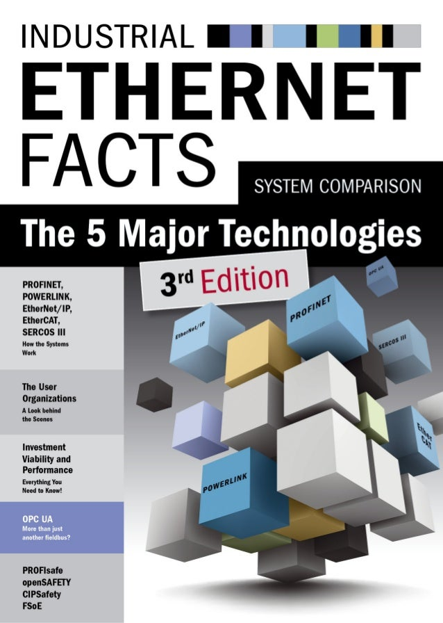 Industrial Ethernet Facts - The 5 major technologies