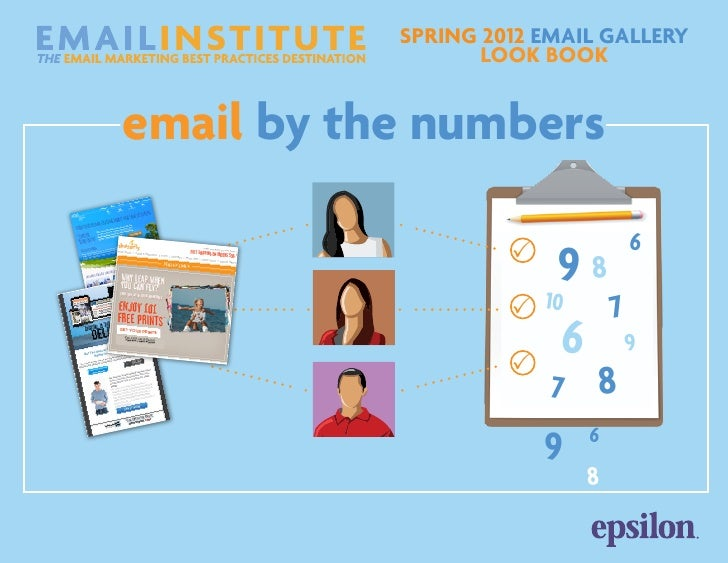 spring 2012 Email Gallery                  Look Bookemail by the numbers                                    6             ...