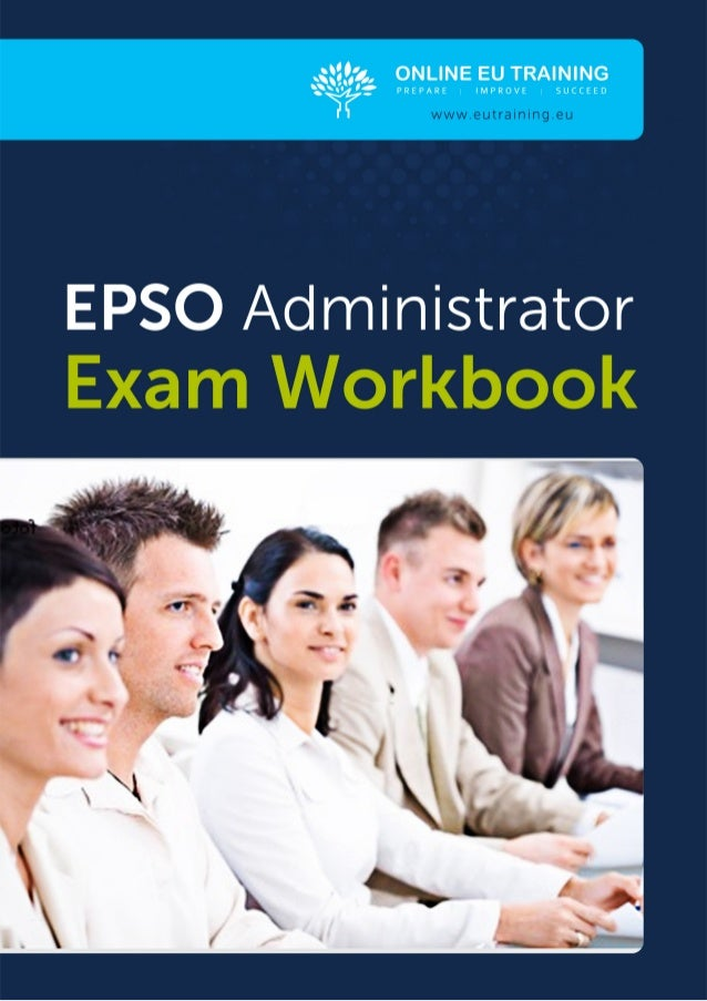 THE EPSO ADMINISTRATOREXAM TEST TYPES                                                                                     ...