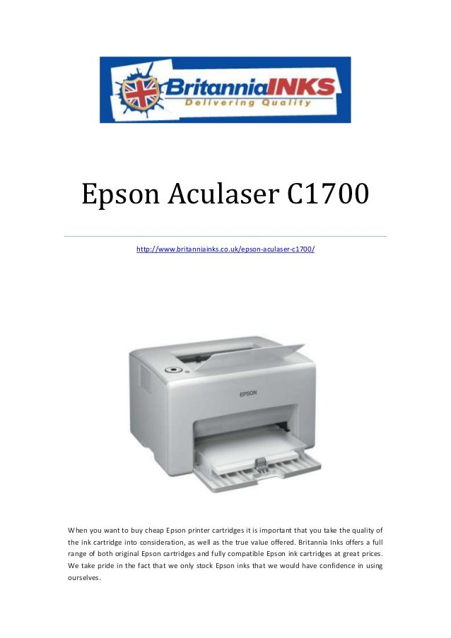 Epson Aculaser C1700                     http://www.britanniainks.co.uk/epson-aculaser-c1700/When you want to buy cheap Ep...
