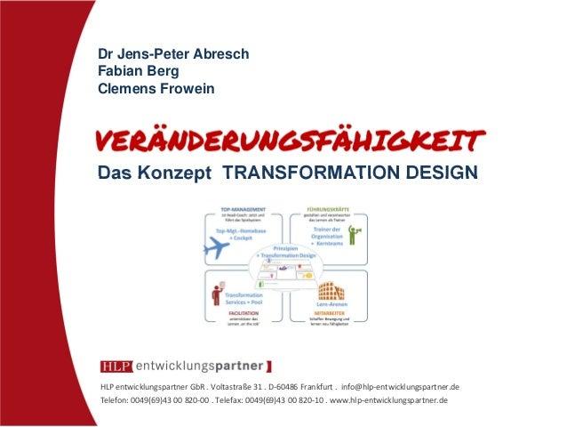 VERÄNDERUNGSFÄHIGKEIT - Neues Change Management