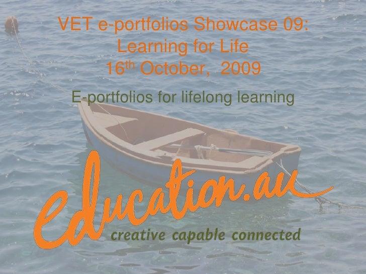 ePortoflios for lifelong learning
