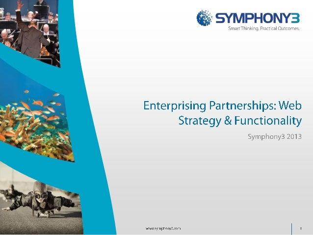 Enterprising Partnerships - Web Strategy & Functionality