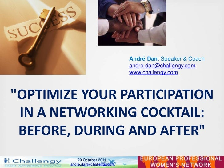Networking - Conference for EPWN - Andre Dan 2011