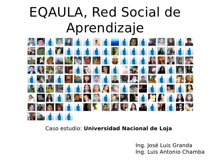 Eqaula, red social de aprendizaje