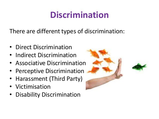 direct and indirect discrimination It focuses on the national courts' conceptualization of direct and indirect discrimination on the grounds of sex or sexual orientation within the normative framework of substantive gender equality, in terms of equal pay and equal treatment and access to goods and services, and why the german and dutch national courts' application of eu non .