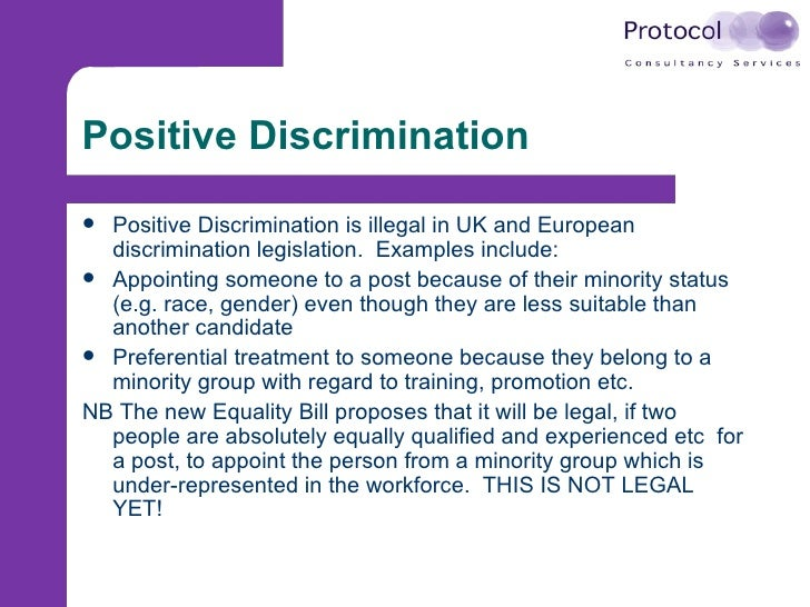 positive prejudice examples You make a positive prejudice towards him however the  i will try to mention  few examples and possible ways of avoiding those situations.