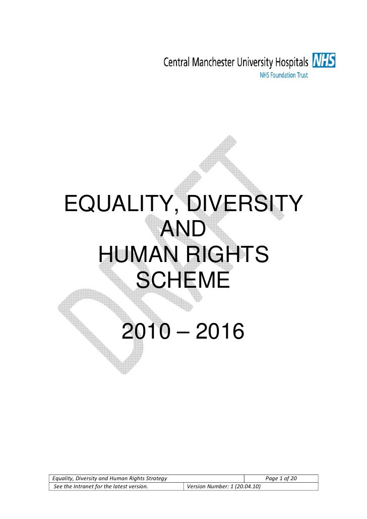 equality diversity and rights Welcome to the equality and diversity unit home page the unit is responsible  for promoting and embedding all aspects of equality and diversity within the.