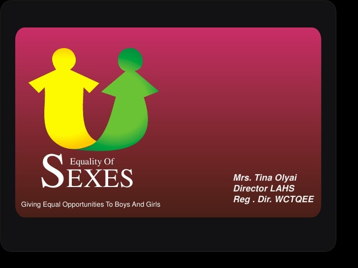 Mrs. Tina Olyai<br />Director LAHS <br />Reg . Dir. WCTQEE <br />Giving Equal Opportunities To Boys And Girls<br />